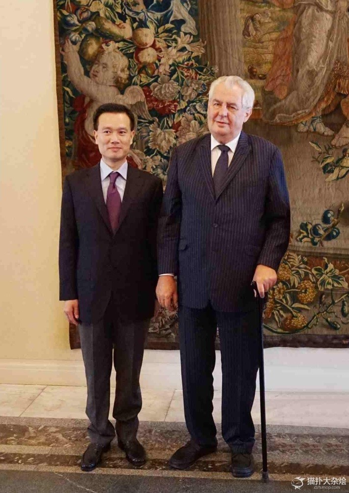 CEFC's founder Ji Jianming quietly became a Special Economic Adviser to Czech President Milos Zeman, which was only published six months after his appointment