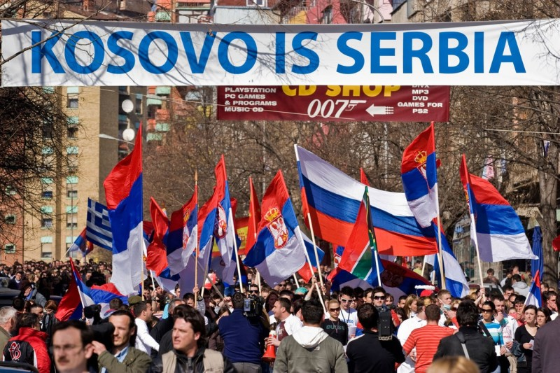 In this worst case scenario, the future would at least for a while, remain fossilized under the illusion that Kosovo is Serbia.