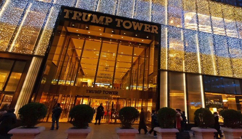 Place of secret meetings: Trump Tower on Ist River, in which 78B Apartment, Patrik Ho met with Vuk Jeremic and weapons smugglers