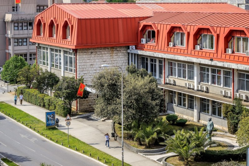 Na udaru prljave kampanje: Zgrada Pravnog fakulteta u Podgorici čiji je dekan profesor Velimir Rakočević