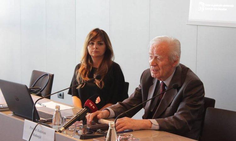 Akademska krađa u krugu prijatelja: Daliborka Uljarević i profesor Radovan Radonjić, bliski saradnici u okviru projekta Škole demokratije koju organizuje CGO