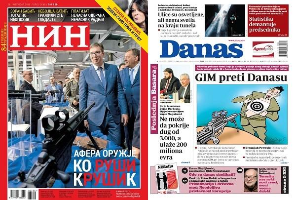 Dve naslovne strane