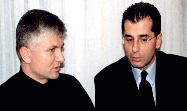Zoran Djindjić i Vladimir Beba Popović