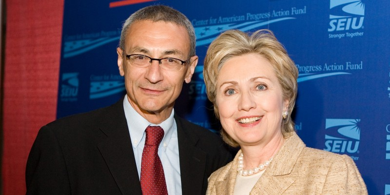 Vuk Jeremic, collaborating for years with his friend and the chief of Hilary Clinton's campaign, John Podesta. Today due to cheap political reasons, he is attacking the Clinton family whom he has been trying hard to establish close relations with.
