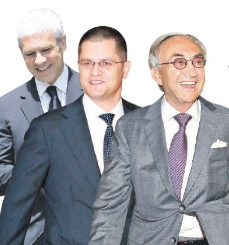 Citizens of Serbia paid millions of dollars for their interests: Boris Tadic, Vuk Jeremic and Miroslav Miskovic