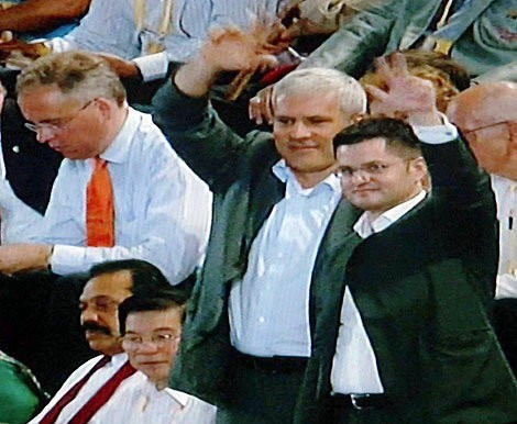 Money from the state budget used mostly for personal PR of Tadic and Jeremic, such as their presence on the opening of Olympic games in Beijing?!!