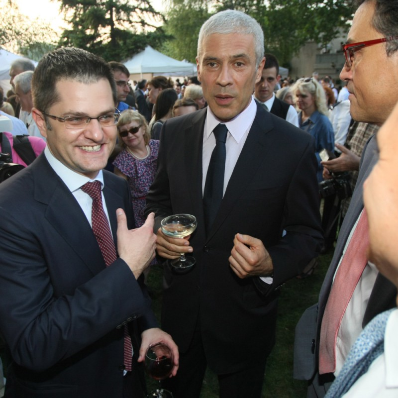 Pathology: Boris Tadic, the political father of Vuk Jeremic, continues to forgive fraud and deception