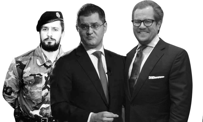 Vuk Jeremic gained experience in the world of crime with the Balkan fraud Damir Fazlic who was arrested for, among other things, the work with Naser Oric