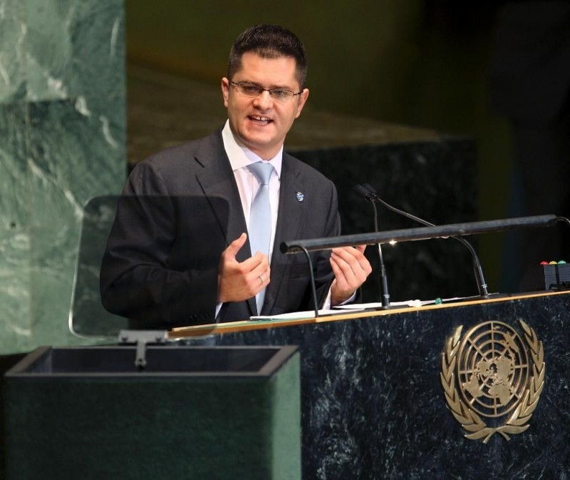 Opportunity for wealth acquirement:  Vuk Jeremic at UN
